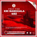 Doa terbaik untuk Para Awak Kapal Selam  KRI NANGGALA 402 Yang hilang di Perairan Utara Bali Pada Rabu 21 April 2021